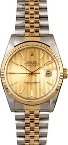 Rolex Datejust 16233 Certified Men's Watch