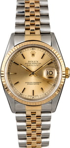 Rolex Datejust 16233 Two Tone Watch