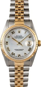 Rolex Datejust 16233 Mother of Pearl Dial