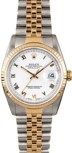 PreOwned Rolex Datejust 16233 Two Tone Jubilee