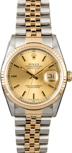 Certified Rolex Datejust 16233