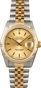 Rolex Datejust 16233 Jubilee Band