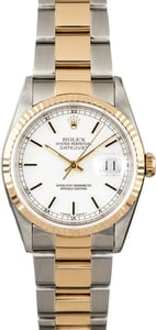 Used Rolex Datejust 16233 Two Tone Oyster