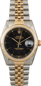 Men's Rolex Datejust 16233 Two Tone Watch