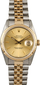Pre-Owned Datejust Rolex 16233