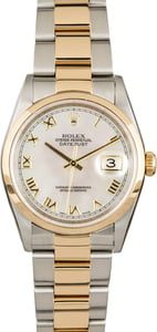 Rolex Datejust 16233 Mother of Pearl Roman Dial