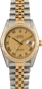 Used Rolex Datejust 16233 Pyramid Dial