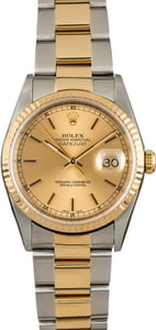 Pre Owned Rolex Datejust 16233 Oyster Bracelet