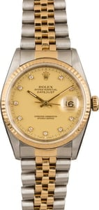 Used Rolex DateJust 16233 SSRJx