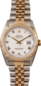 Pre-Owned Rolex Datejust 16233 Roman Markers
