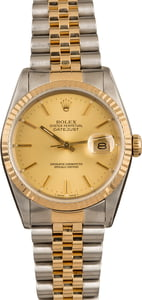 Pre-Owned Rolex 36MM Datejust 16233