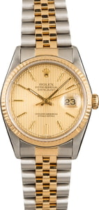 Datejust Rolex 16233 Certified Pre-Owned