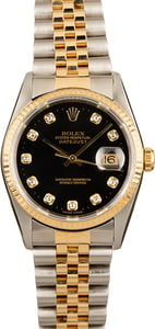 Pre-Owned Rolex Datejust 16233 Diamonds