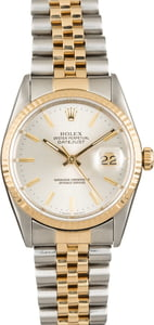 Pre Owned Rolex Datejust 16233 Fluted Bezel