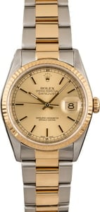 Used Rolex Datejust 16233 Oyster Band