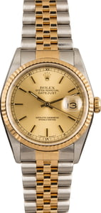 Pre-Owned 36MM Rolex Datejust 16233