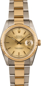 Pre-Owned Two Tone Rolex Datejust 16233