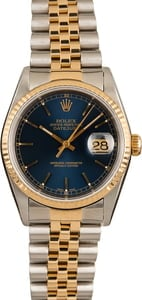 Pre-Owned Rolex Datejust 16233 Jubilee Bracelet Model