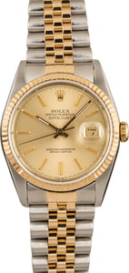 Pre-Owned 36MM Rolex 16233 Datejust