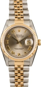 Pre-Owned Rolex Datejust 16233 Steel Roman Dial