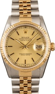Rolex Datejust 16233 Two Tone Jubilee