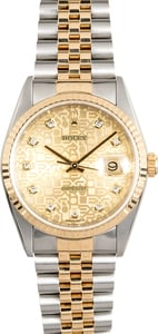 Rolex Datejust 16233 Diamond Jubilee