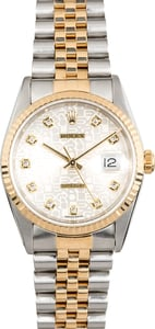 Rolex Datejust 16233 Diamond Jubilee Dial