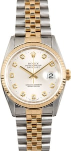 Rolex Datejust 16233 Diamond Markers