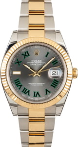 Rolex Datejust 126333 Slate Dial