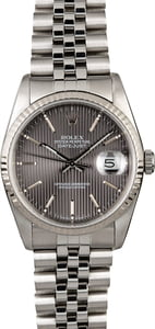 Rolex Datejust 16234 Slate Tapestry Dial