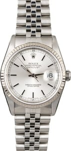 Rolex Datejust 16234 Steel Jubilee Band
