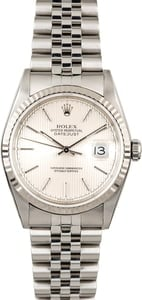 Rolex Datejust 16234 Tapestry Index Dial