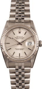 Used Rolex Oyster Perpetual Datejust Steel 16234