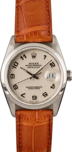 Pre-Owned Rolex Datejust 16234 Ivory Jubilee Dial
