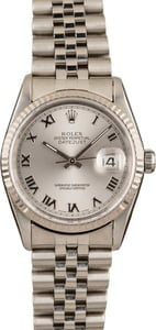 Pre-Owned Rolex Datejust 16234 Roman Dial