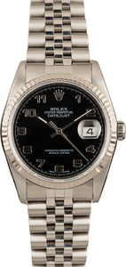 Pre-Owned Rolex Datejust 16234 Arabic Markers