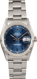 Rolex Datejust 16234 Blue