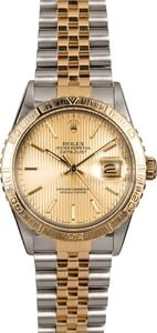 Rolex Thunderbird Datejust 16253 Champagne Tapestry