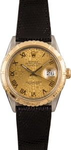 Used Rolex Thunderbird Datejust 16253 Champagne Jubilee Dial