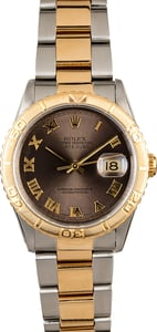 Rolex Datejust Turn-O-Graph 16263 Two Tone Oyster