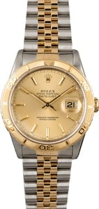 Rolex Datejust Turn-O-Graph 16263 Jubilee Band