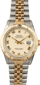 PreOwned Rolex Datejust Turn-O-Graph 16263 Jubilee