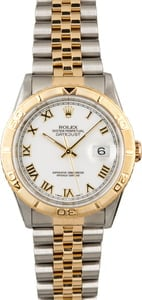 Used Rolex Datejust Turn-O-Graph 16263 Jubilee