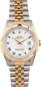 Used Rolex Datejust Turn-O-Graph 16263 Two Tone Jubilee