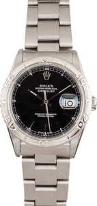 Rolex Datejust 16264 'Turn-O-Graph' Black Dial