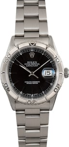 "Rolex Datejust 16264 ""Turn-O-Graph"" Black"