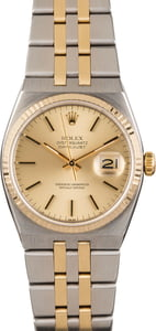 Used Rolex Datejust 17013 Two Tone OysterQuartz