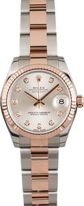Ladies Rolex Datejust 178271 Two Tone Everose Oyster