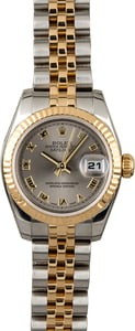 Used Rolex Datejust 179173 Rhodium Roman Dial