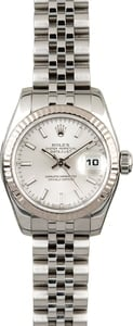 PreOwned Rolex Ladies Datejust 179174 Steel Jubilee